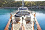 Мотор парусная яхта