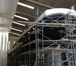 Строительство турецких гулетов